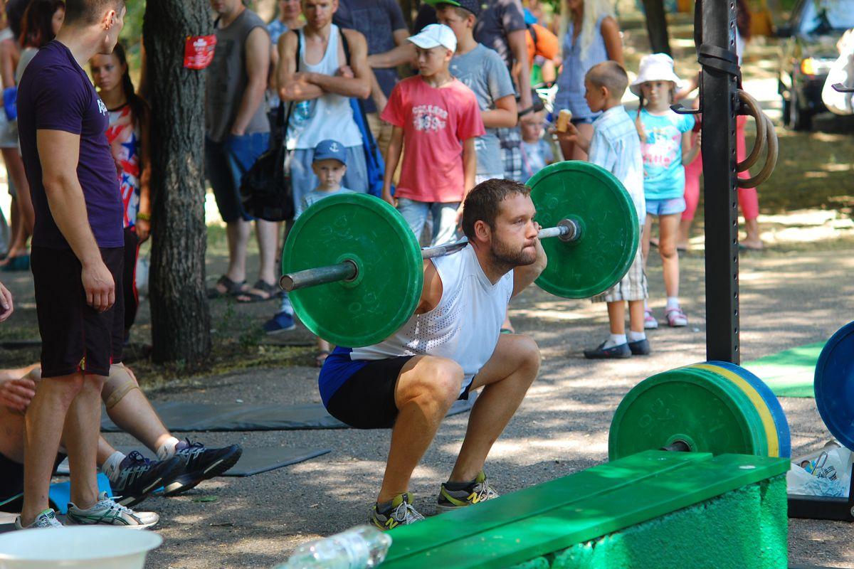 Gewichtheben – Gewichtheber