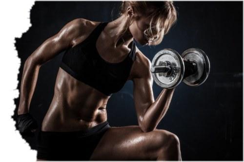 Kurzhantel BizepsCurls - Bizepstraining für Muskelaufbau (stehend)